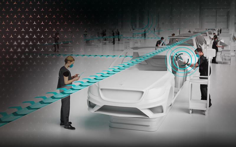 Mercedes-Benz Operations 360 (MO360) digital production