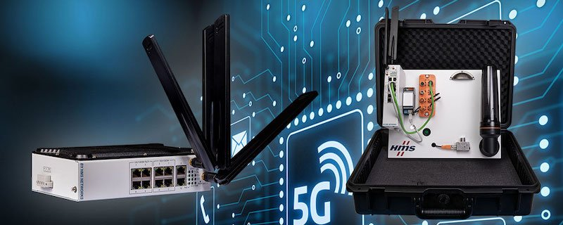 HMS 5G router and starterkit