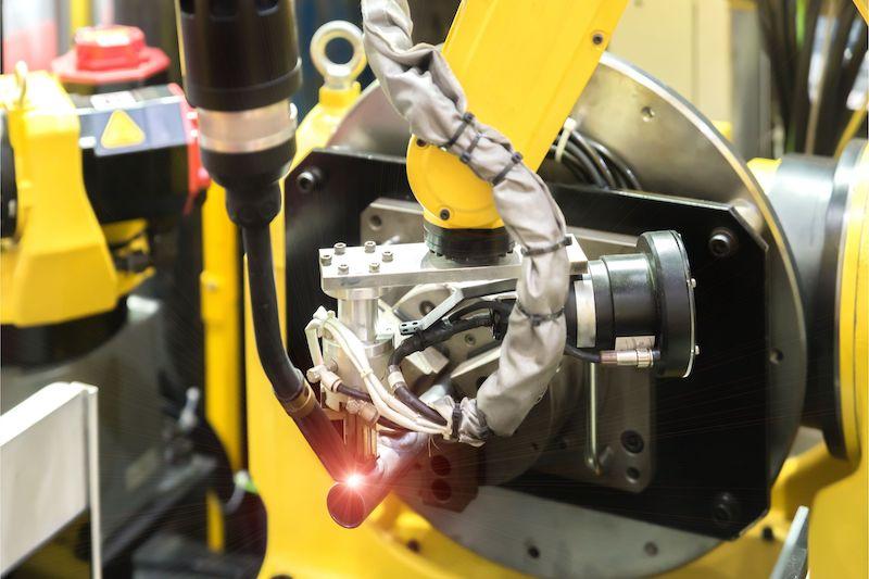 robot cnc laser