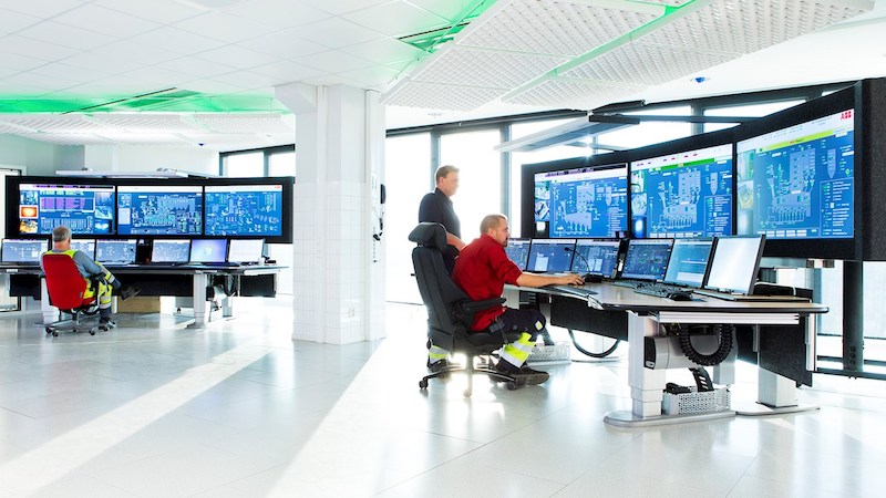 abb distributed control system dcs