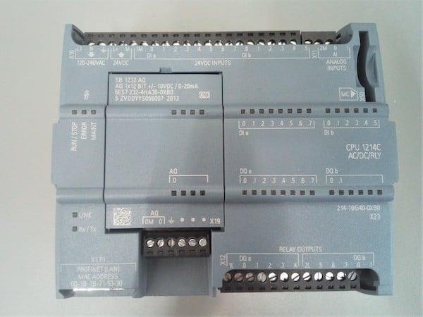 A Siemens S7-1200 PLC