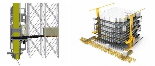 An ASRS design by Bastian Solutions.
