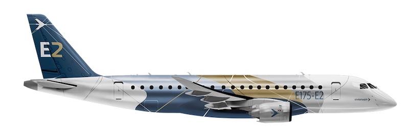 Embraer E175-E2 passenger jet