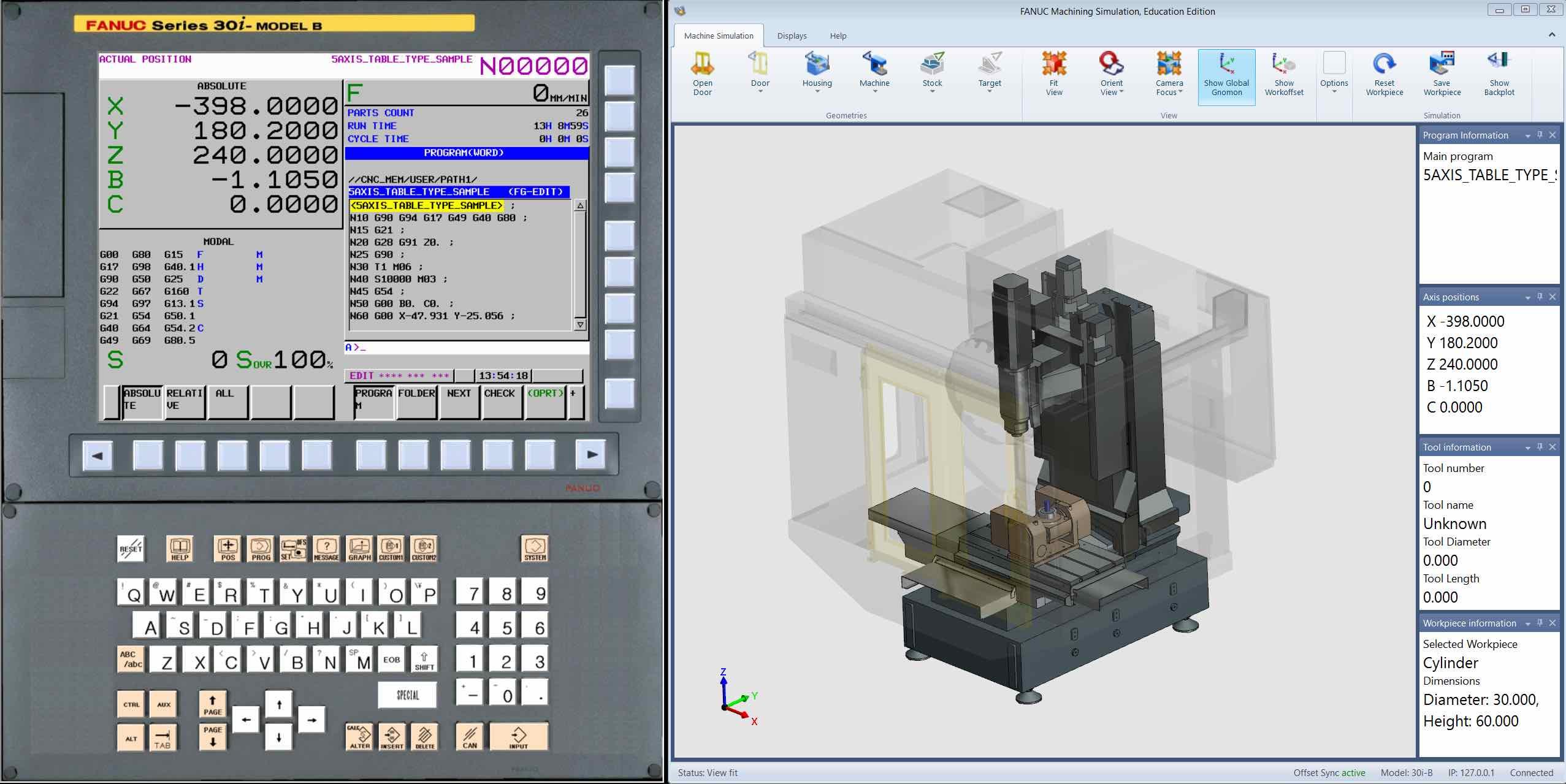 fanuc cnc guide simulation