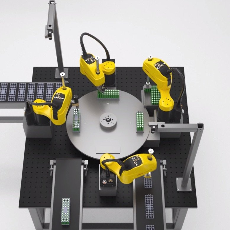 SCARA robot from FANUC
