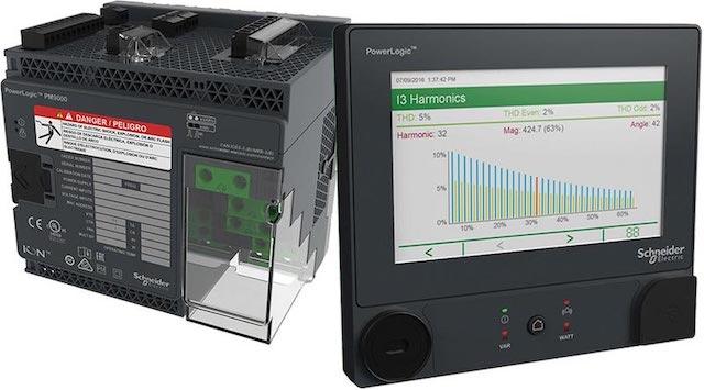 Schneider's Powerlogic meter