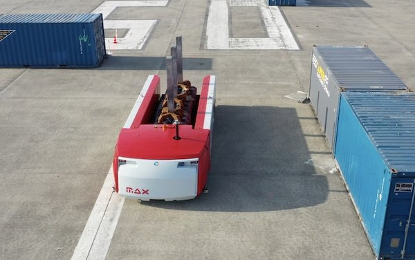 n automated guided vehicle operating outdoors, an application well-suited for IPCs
