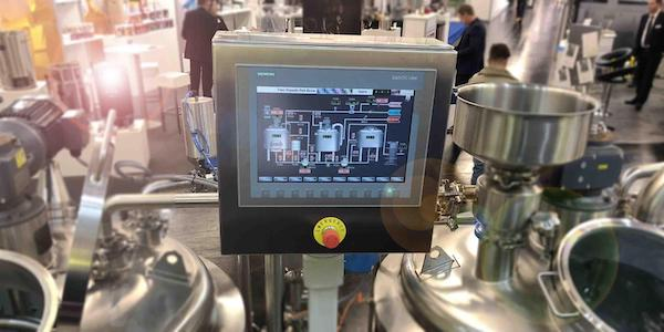 A Panel IPC for a brewery control system, an environment with high temperatures and humidity.
