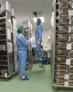 The pharmaceutical industry uses cleanrooms requiring particulate matter air quality measurements.