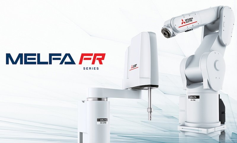 Mitsubishi Electric's MELFA FR series of industrial robots
