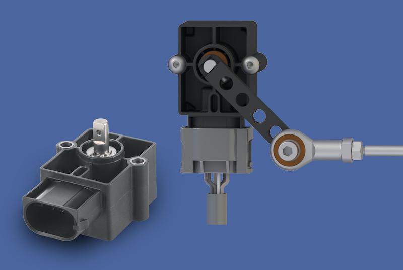 RSA3200 Hall effect angle sensor