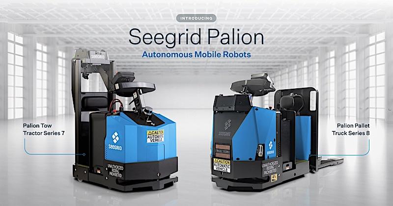 Seegrid Palion Autonomous Mobile Robots (AMRs)