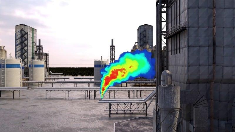 Rebellion Photonics gas leak detection