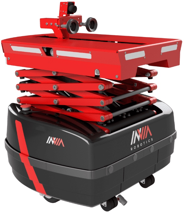 invia robotics social distancing