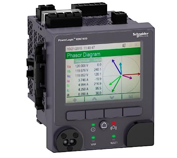 SE PowerLogic ION7400 smart meter