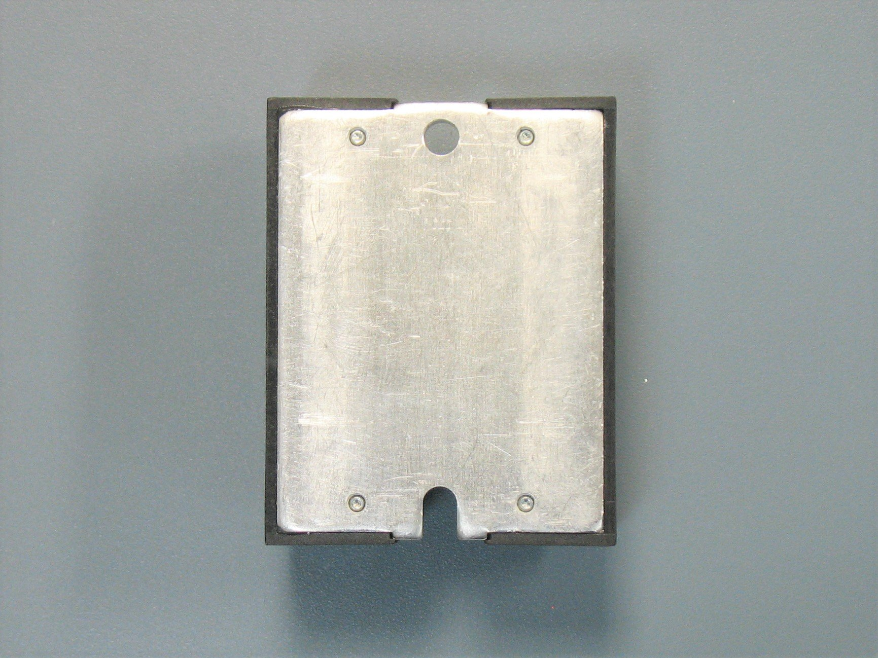 the back view of a solid-state relay
