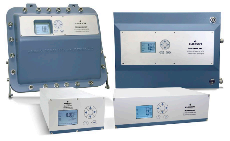 Emerson Rosemount Continuous Gas Analyzers