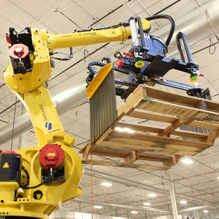 simplimatic solutions automated palletizing machinery