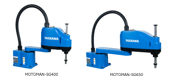 The SG400 and SG650 scalar robots from Yaskawa
