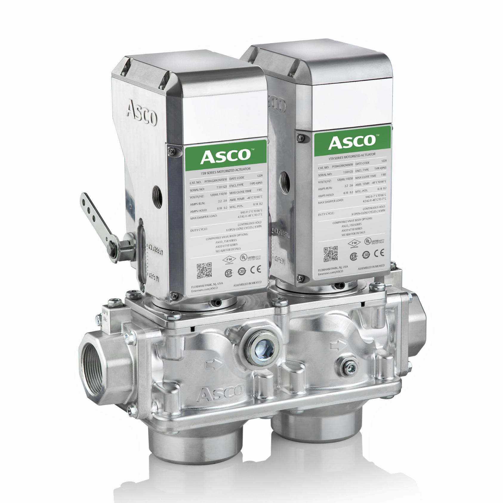 ASCO series Emerson gas valve