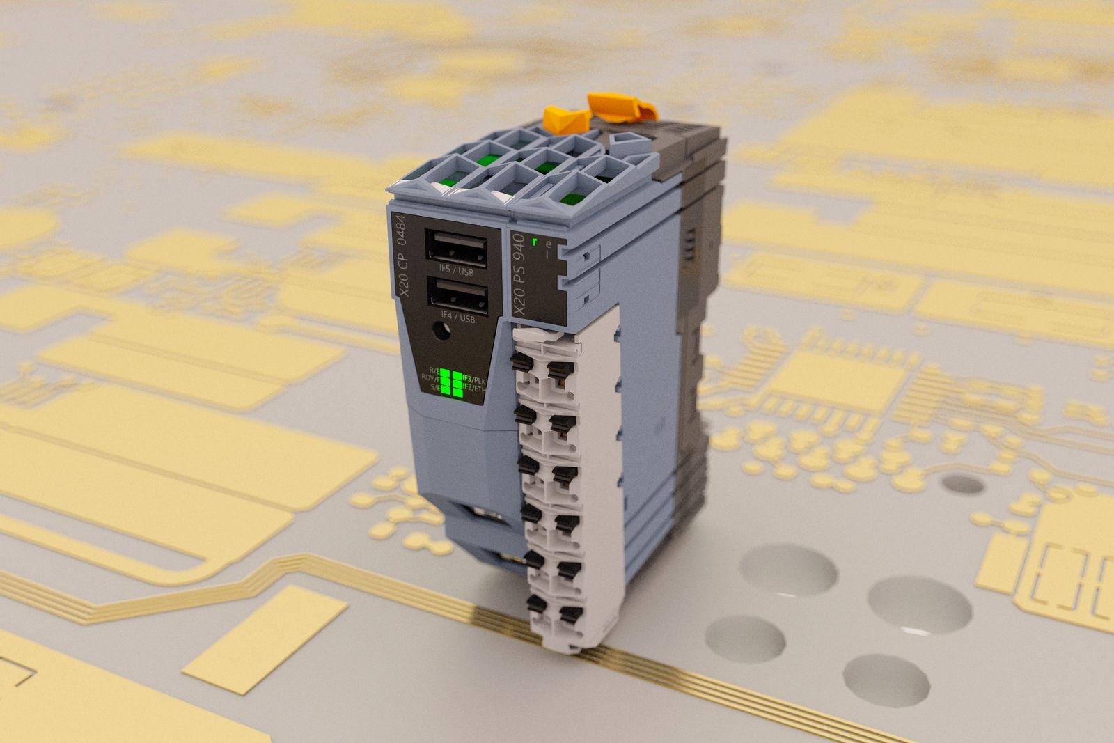 b&R new compact PLC