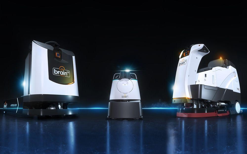 brain corp mobile robots