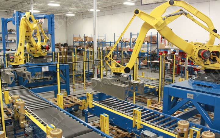 automated palletizing