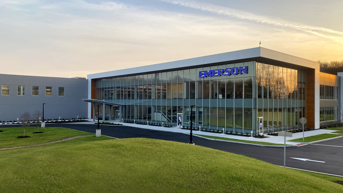 Emerson's new facility in Brookfield, Connecticut