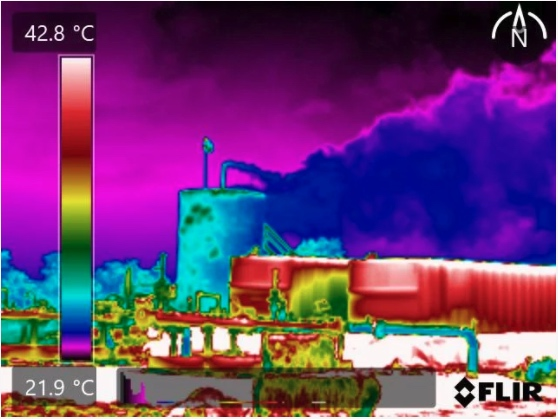 flir gas imaging