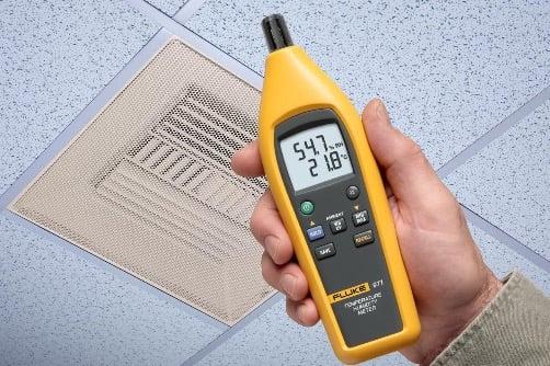 fluke 971 temperature and humidity sensor