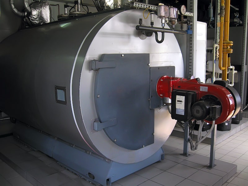 Industrial steam boilers are one example of a manufacturing system that requires SIS.