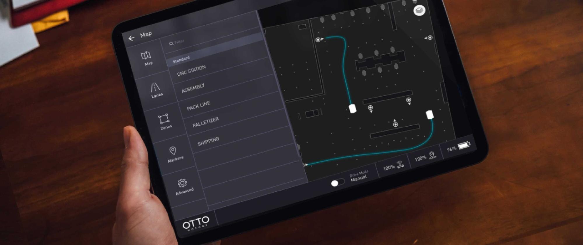 OTTO Motors software