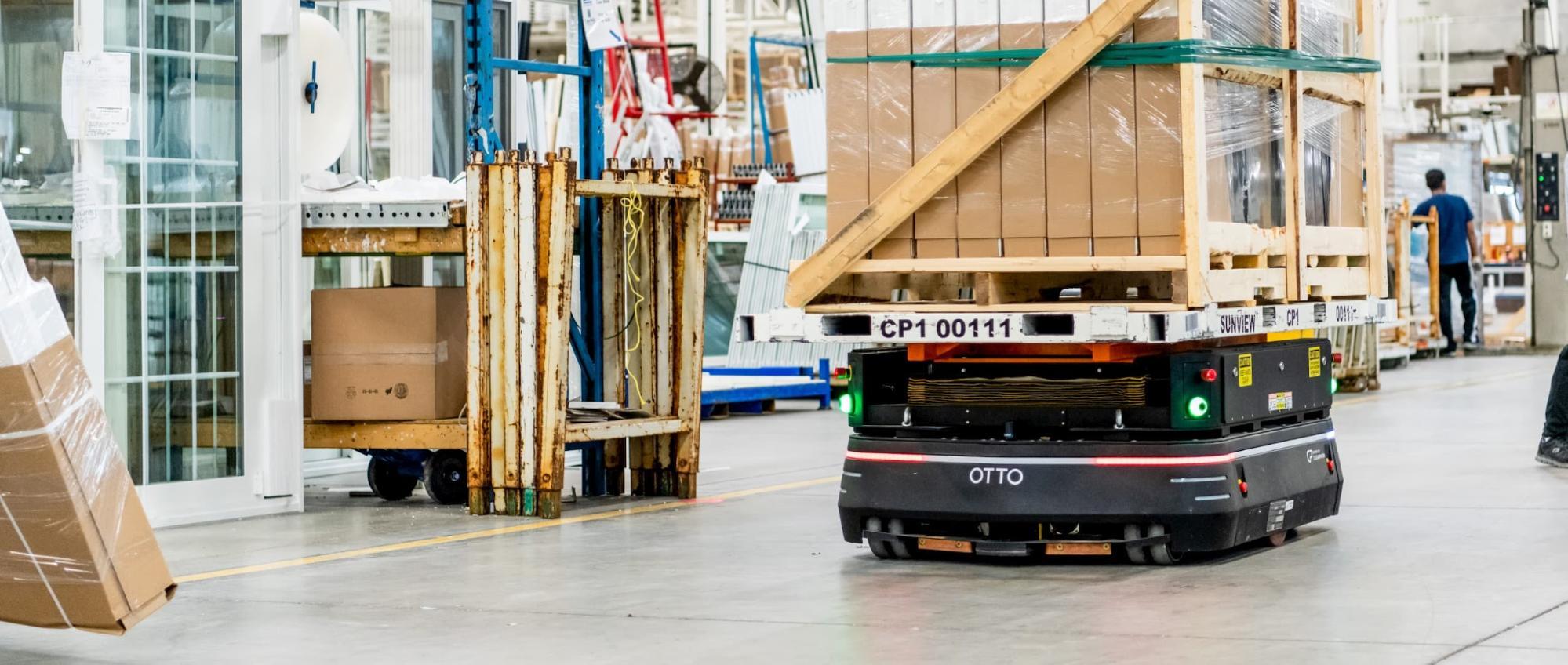 OTTO Motors mobile robot