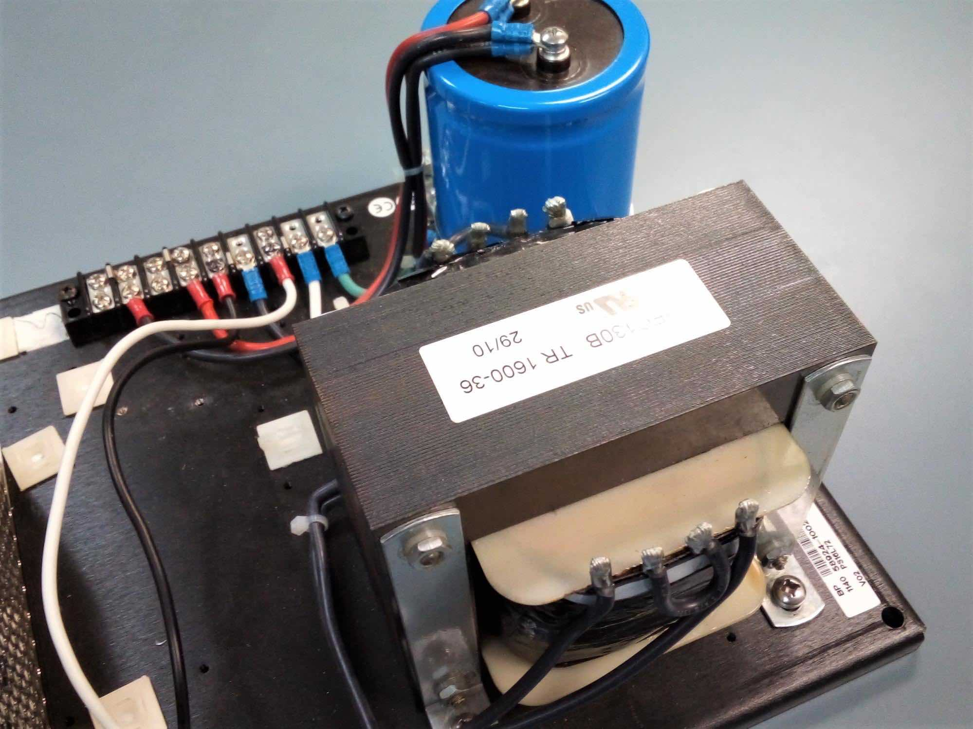 a control transformer as part of a basic power supply