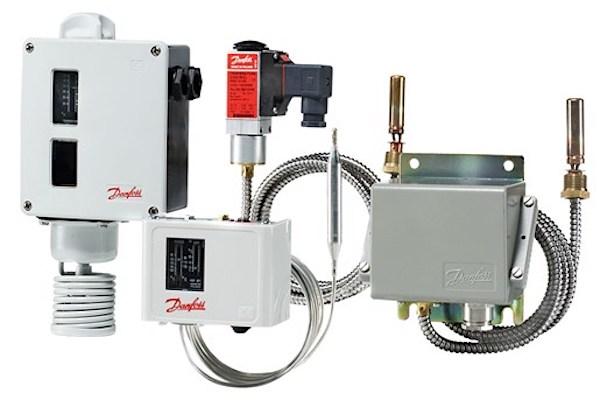 Danfoss industrial temperature switches