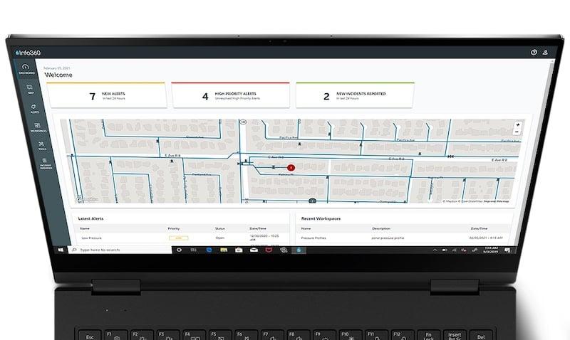 the info dashboard
