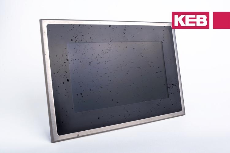 Keb stainless steel HMI