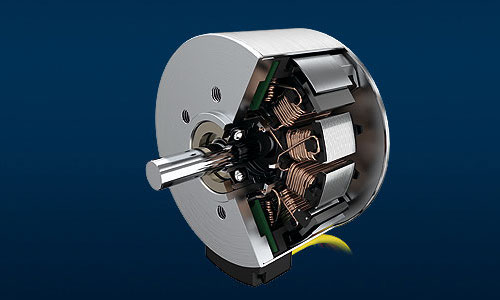 Example rendering of a Faulhaber BXT motor