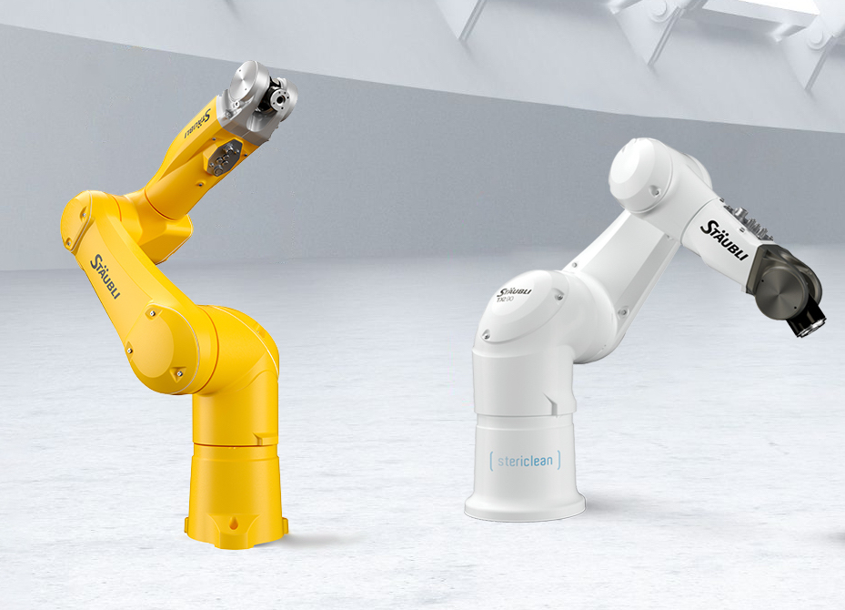 Staubli robots and cobots