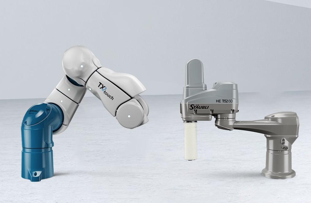 Staubli robots