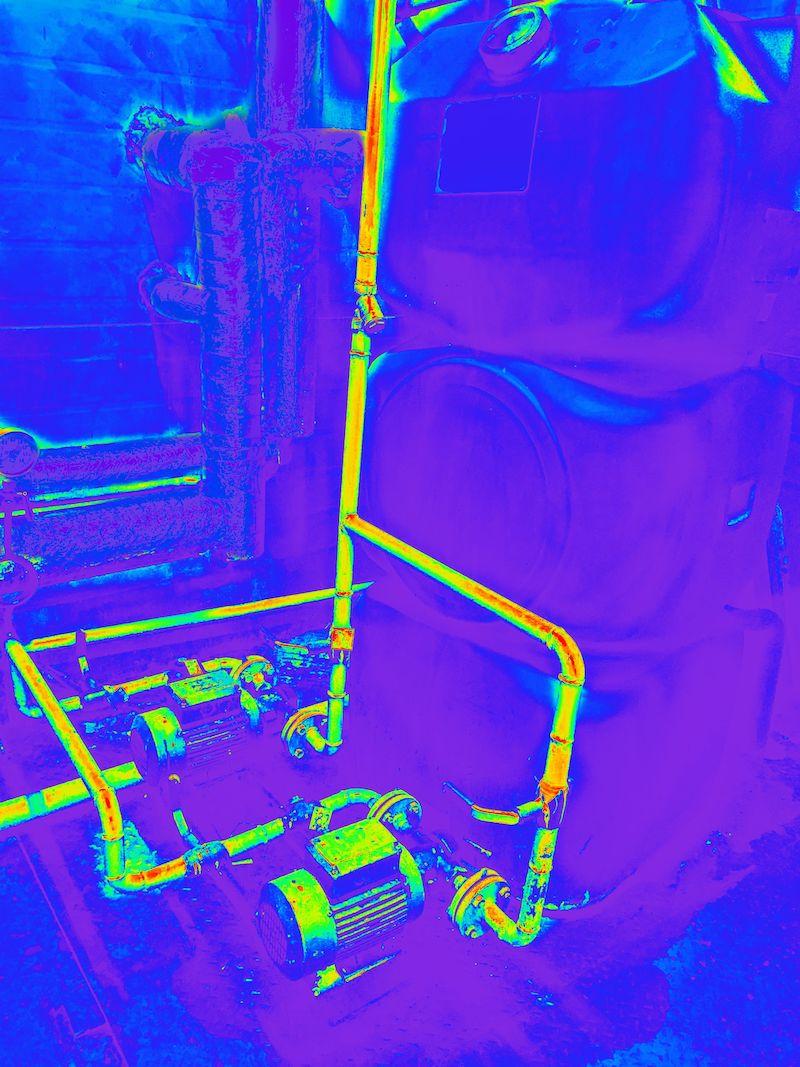 thermal imaging pipelines