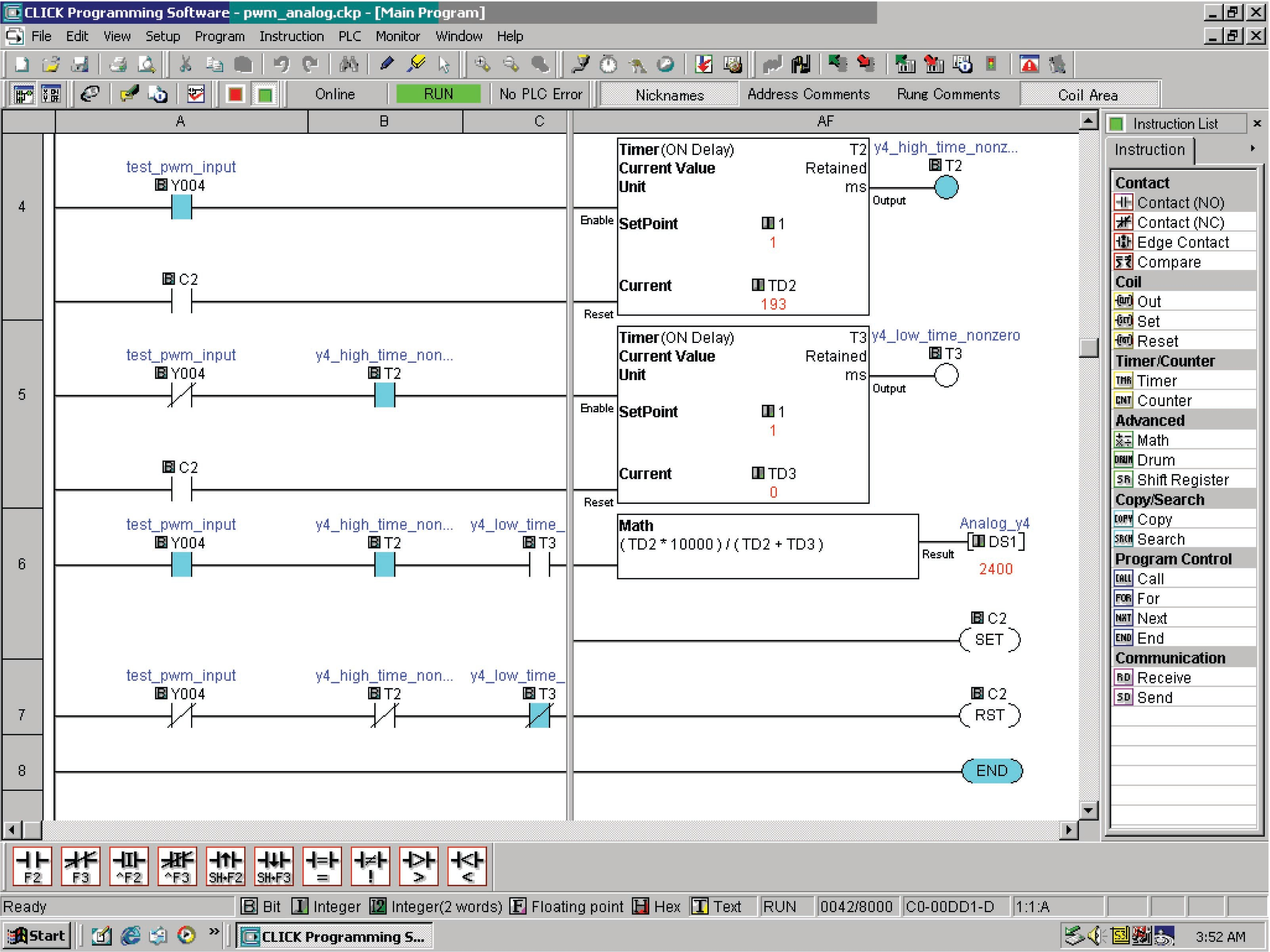 Wiring Diagram Plc Ladder Diagram Examples